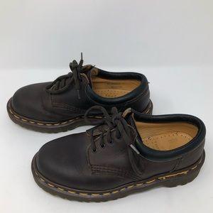 Doc Marten Boys Brown Leather Dress Shoes Sz 3